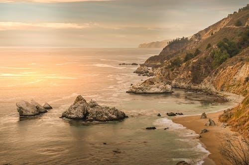 Základová fotografie zdarma na téma cestování, dálnice 1, Kalifornie