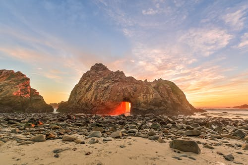 Základová fotografie zdarma na téma cestování, Kalifornie, kámen