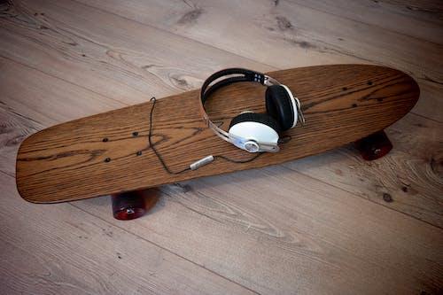 Fotobanka sbezplatnými fotkami na tému skateboard, slúchadlo