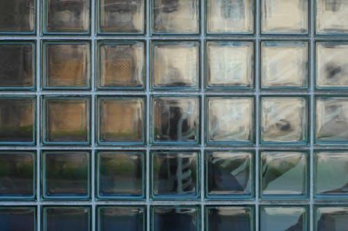 Free stock photo of architecture, geometry, glass blocks, modern architecture