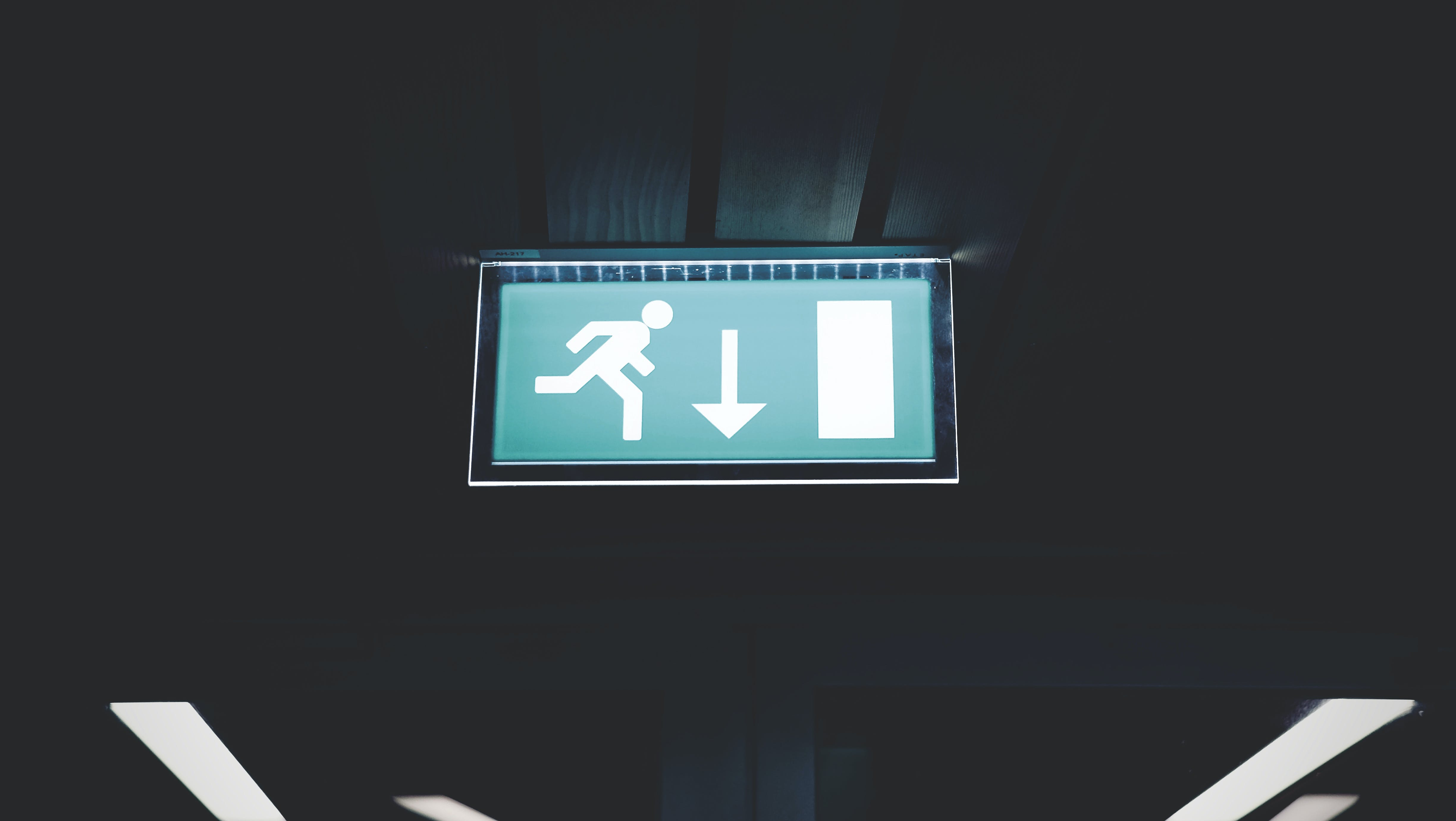 Lighted Running Signage