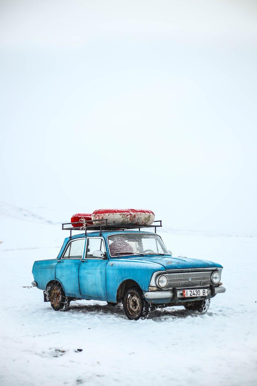 Перший сніг в Нікополі