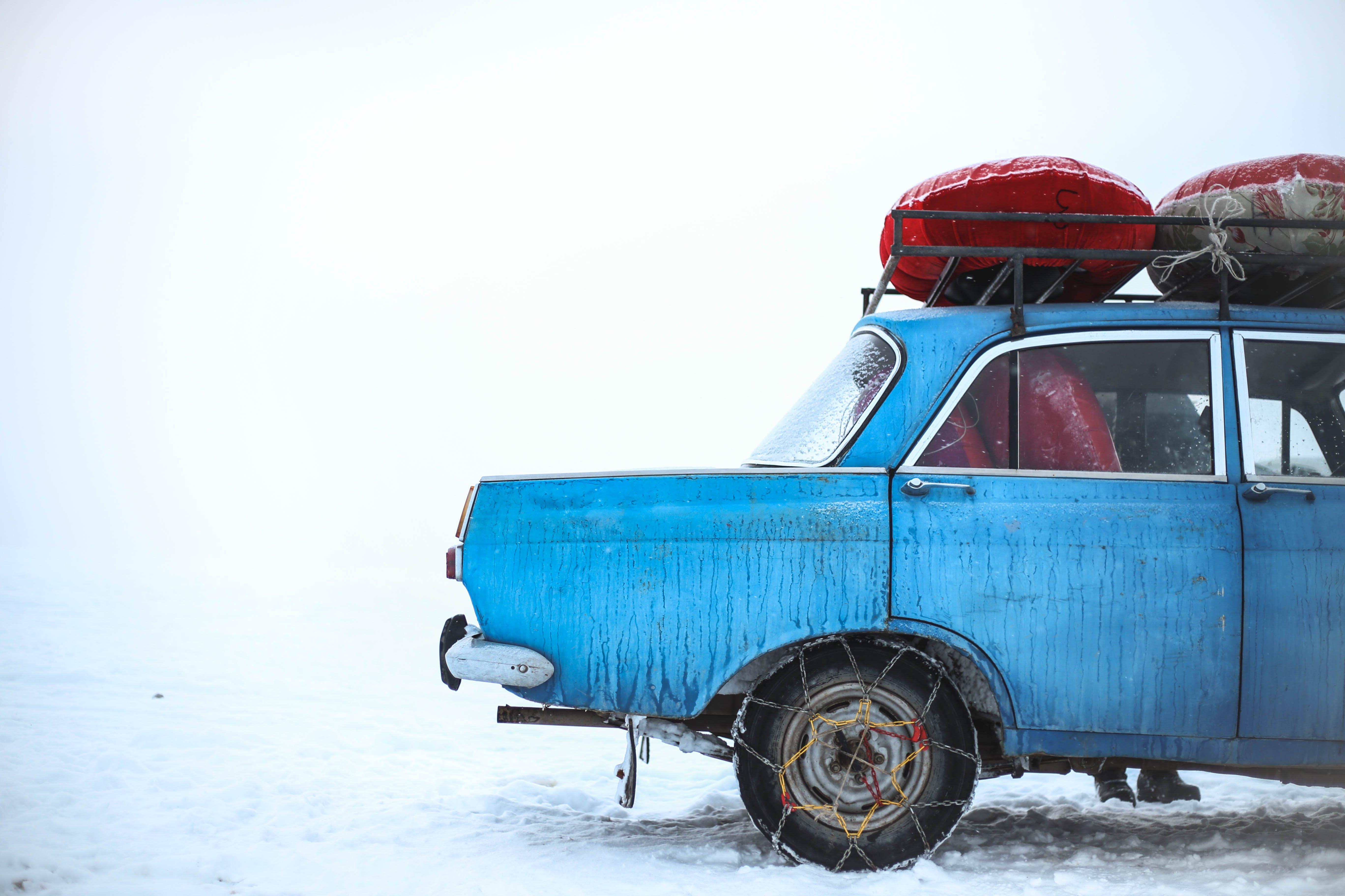Ingyenes stockfotó autó, autózás, befagyott, fagy témában