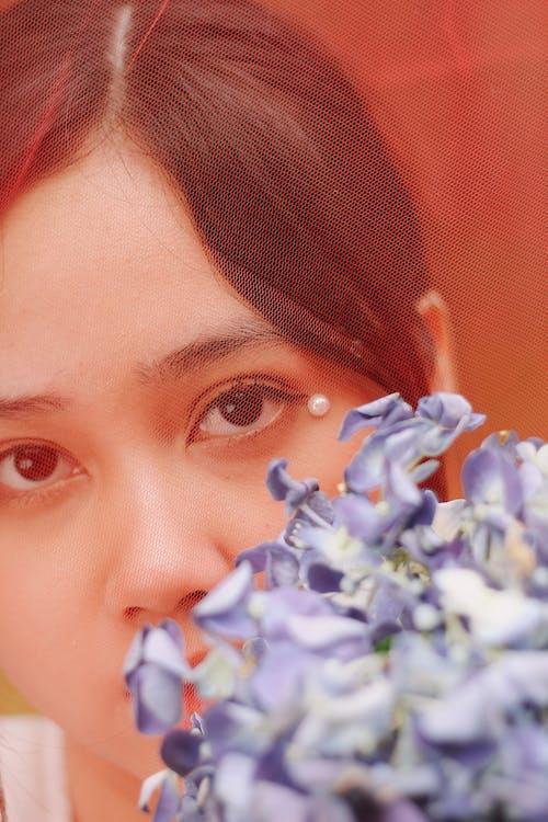 Бесплатное стоковое фото с азиатка, брюнетка, глаза