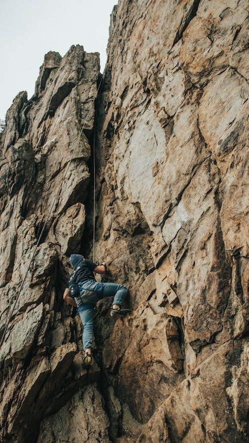 Free stock photo of adventure, cliff, climb