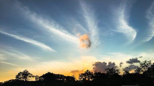 藍天, 雲 的 免費圖庫相片