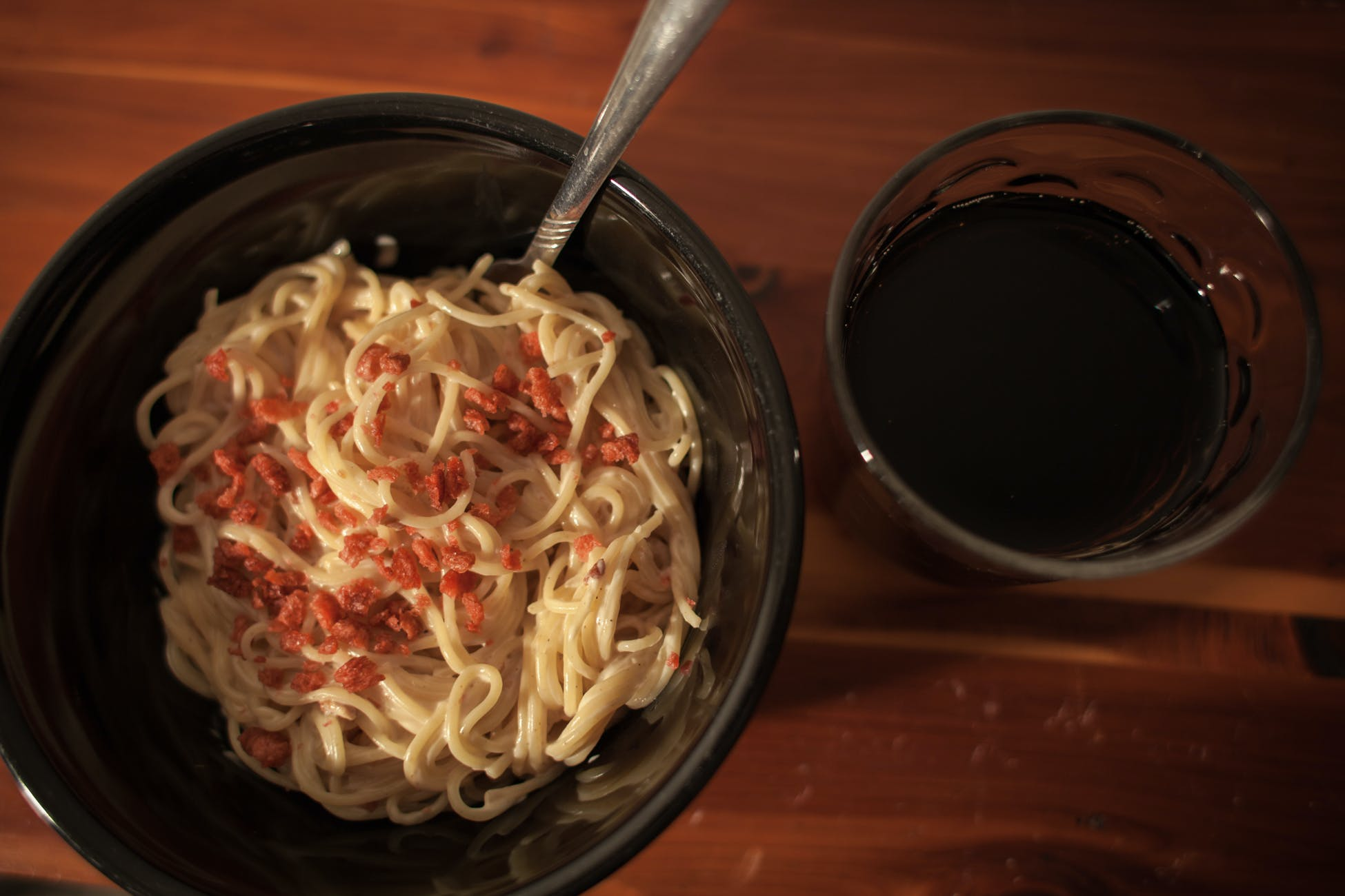 Free stock photo of food, wood, night, noodles