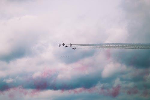 Бесплатное стоковое фото с Аэропорт, военный, воздух