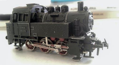 Gratis arkivbilde med damplokomotiv, lokomotiv, modell, modell tog