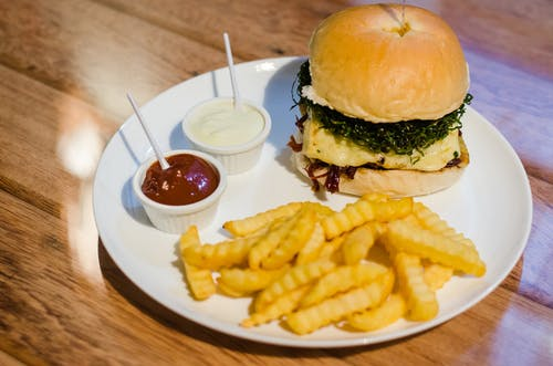 Free stock photo of burger, hamburg, hamburger