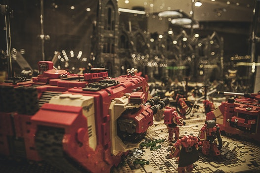Free stock photo of exhibition, lego, warhammer, bydgoszcz