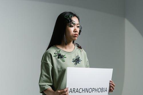 Foto stok gratis arachnofobia, depresi, fobi