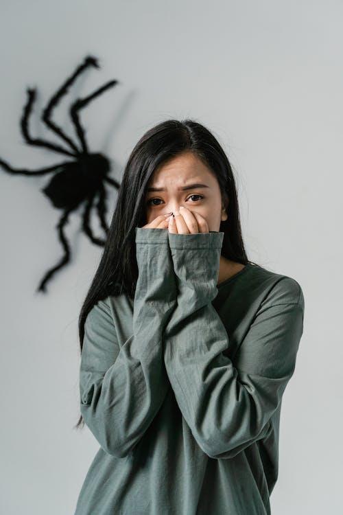 Foto stok gratis arachnofobia, cemas, depresi