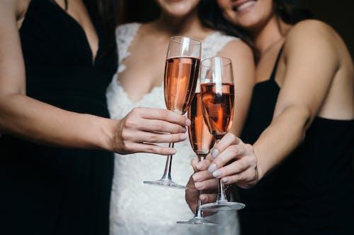 คลังภาพถ่ายฟรี ของ การทำเสียงกริ๊ก, การแต่งงาน, งานเฉลิมฉลอง