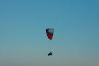 flying, paraglider