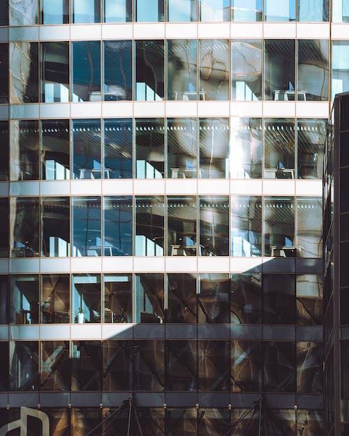 açık, ayna, bina içeren Ücretsiz stok fotoğraf