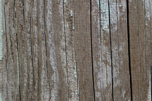 Brown Wooden Surface with Grey Streaks
