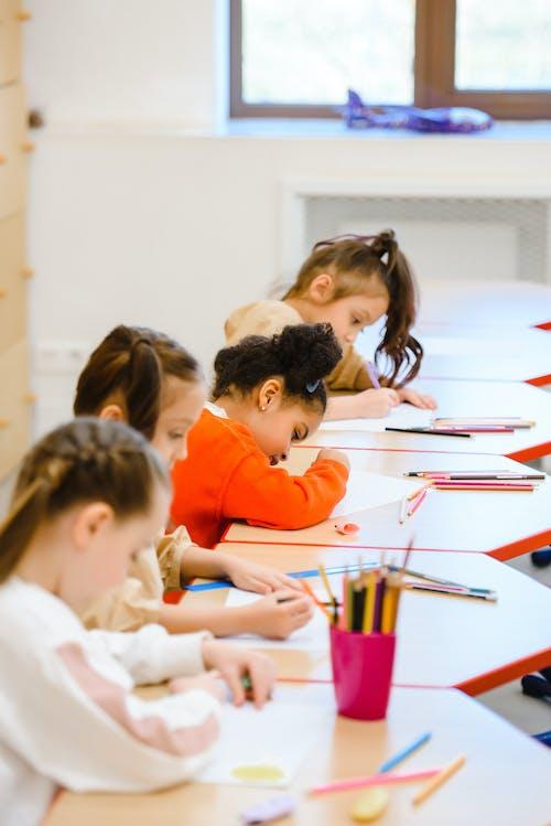 Imagine de stoc gratuită din concentra, copii, educație