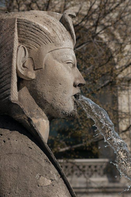 Free stock photo of fountain, place de châtelet, sculpture