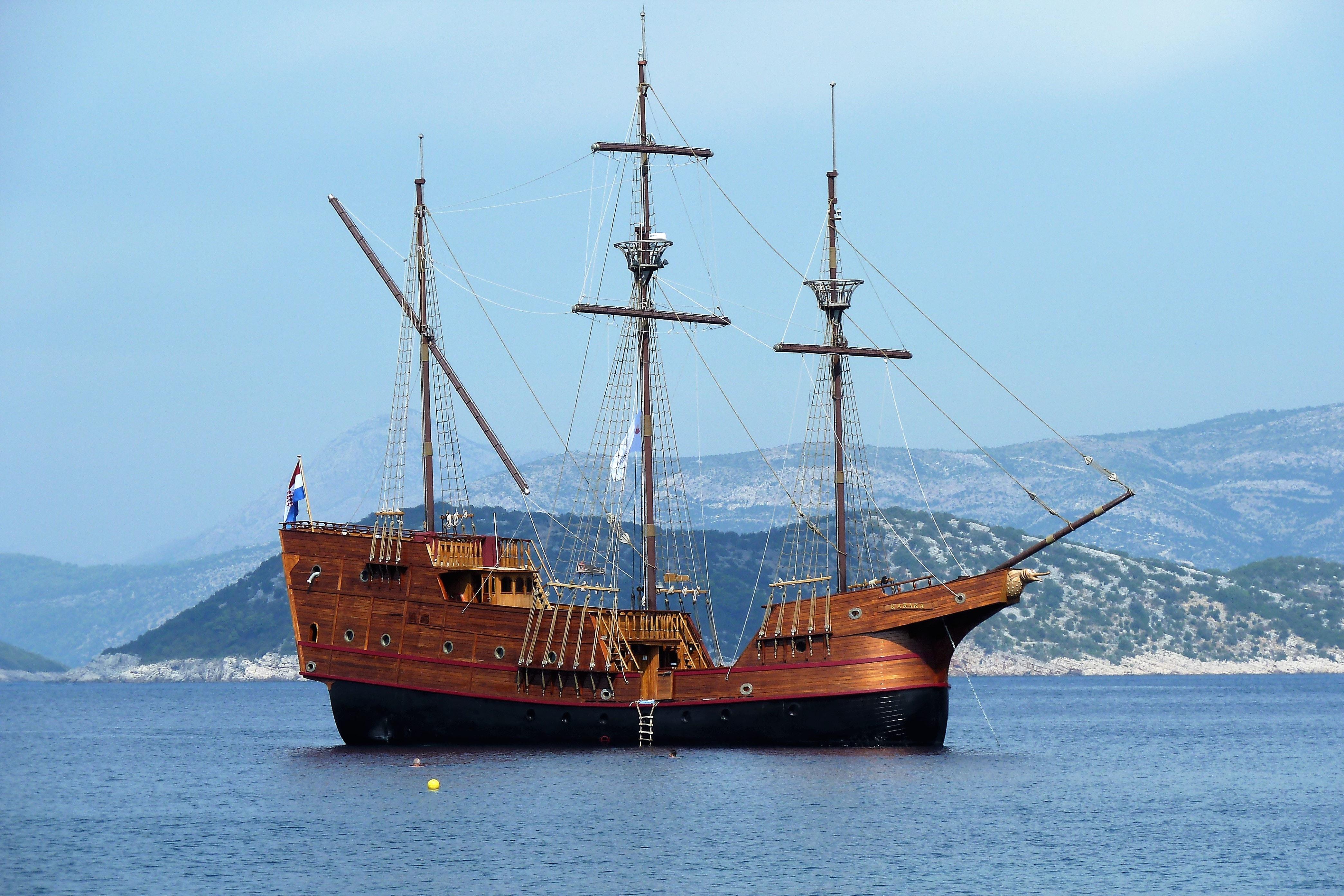 Free Stock Photo Of Caravel  Cruise Ship  Mediterranean Sea