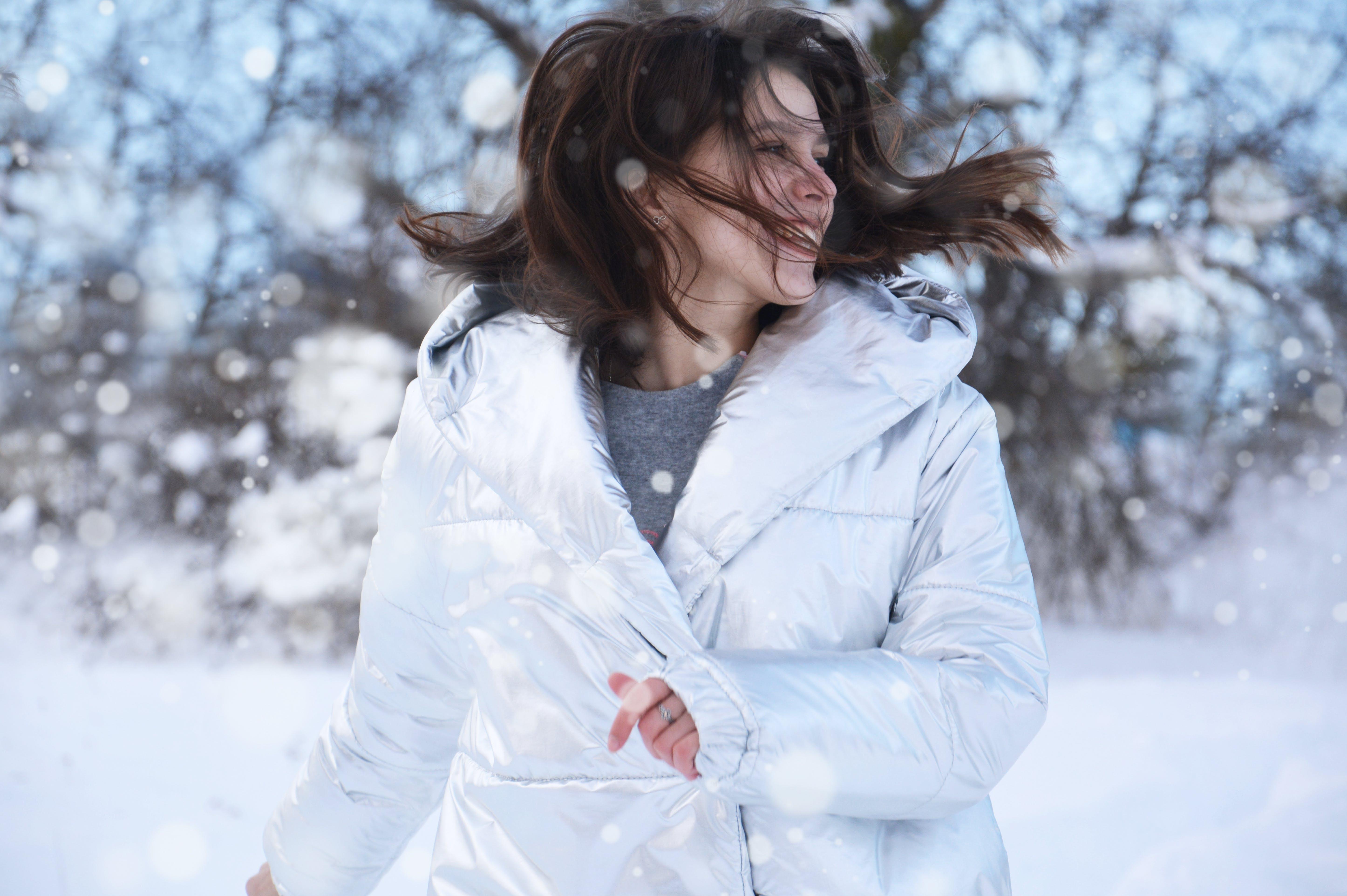 Women's White Winter Coat