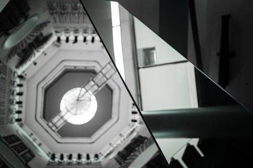 Fotos de stock gratuitas de blanco y negro, escala de grises, espejo