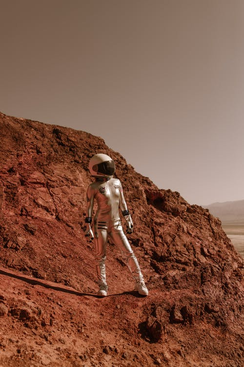 Photo of a Spacewoman