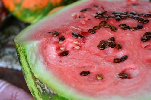 Základová fotografie zdarma na téma červená, jídlo, vodní meloun, zelená
