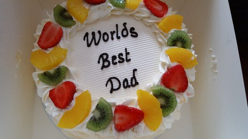 Бесплатное стоковое фото с торт, торт на день рождения
