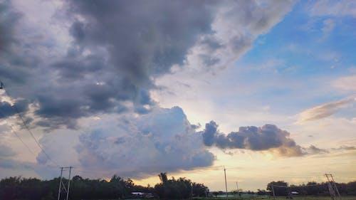 Kostenloses Stock Foto zu über den wolken