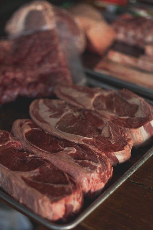 Gratis arkivbilde med frisk, kjøtt, oksekjøtt