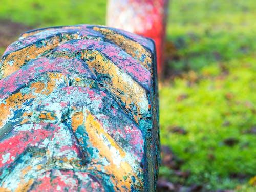 Gratis arkivbilde med dekk, gammelt dekk, lekeplass, park