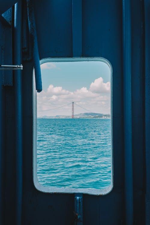 Blue Sea Under White Sky