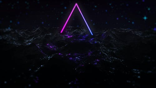 Free stock photo of 3d render, 80s, background