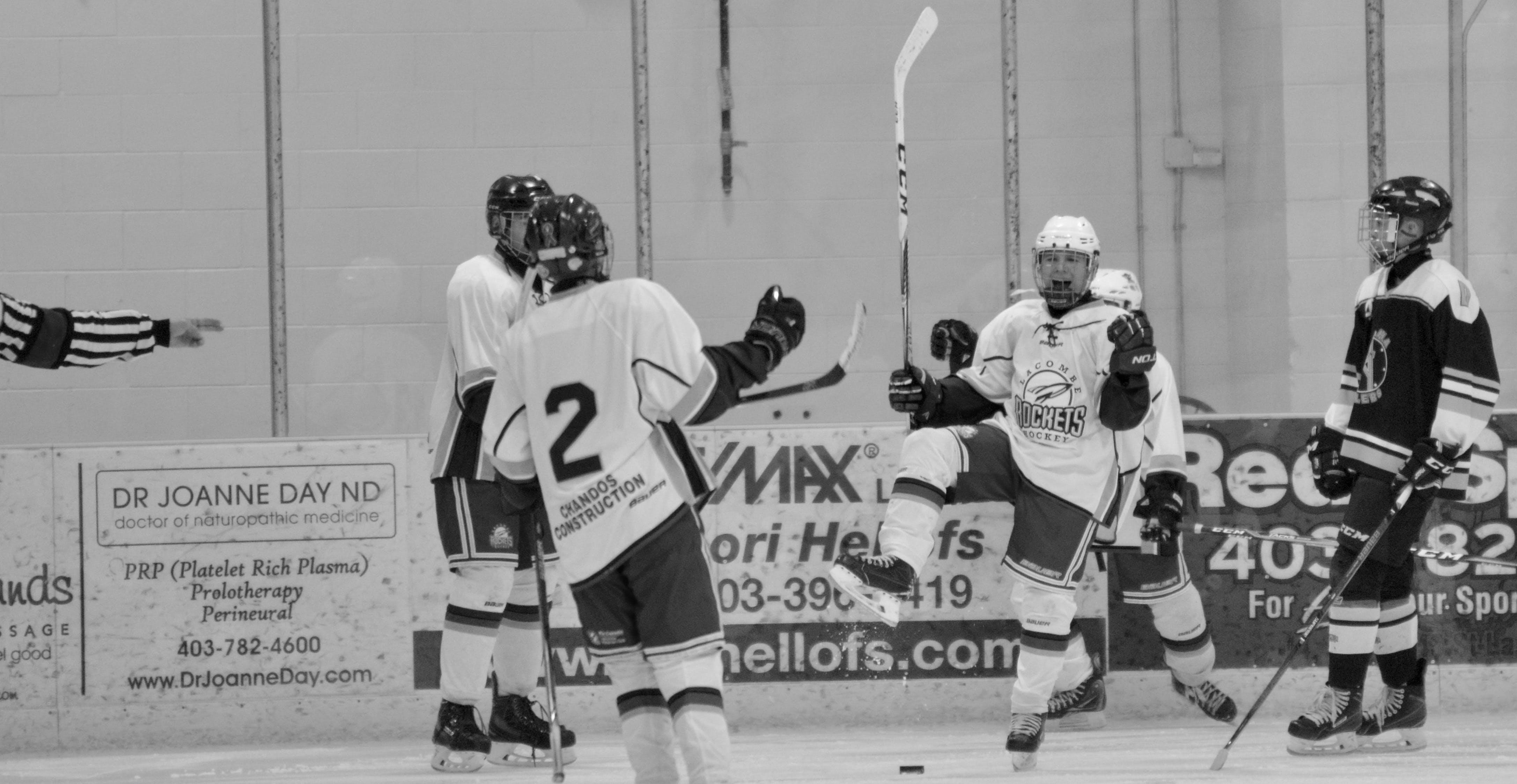 Free stock photo of celebration, hockey goal, ice hockey