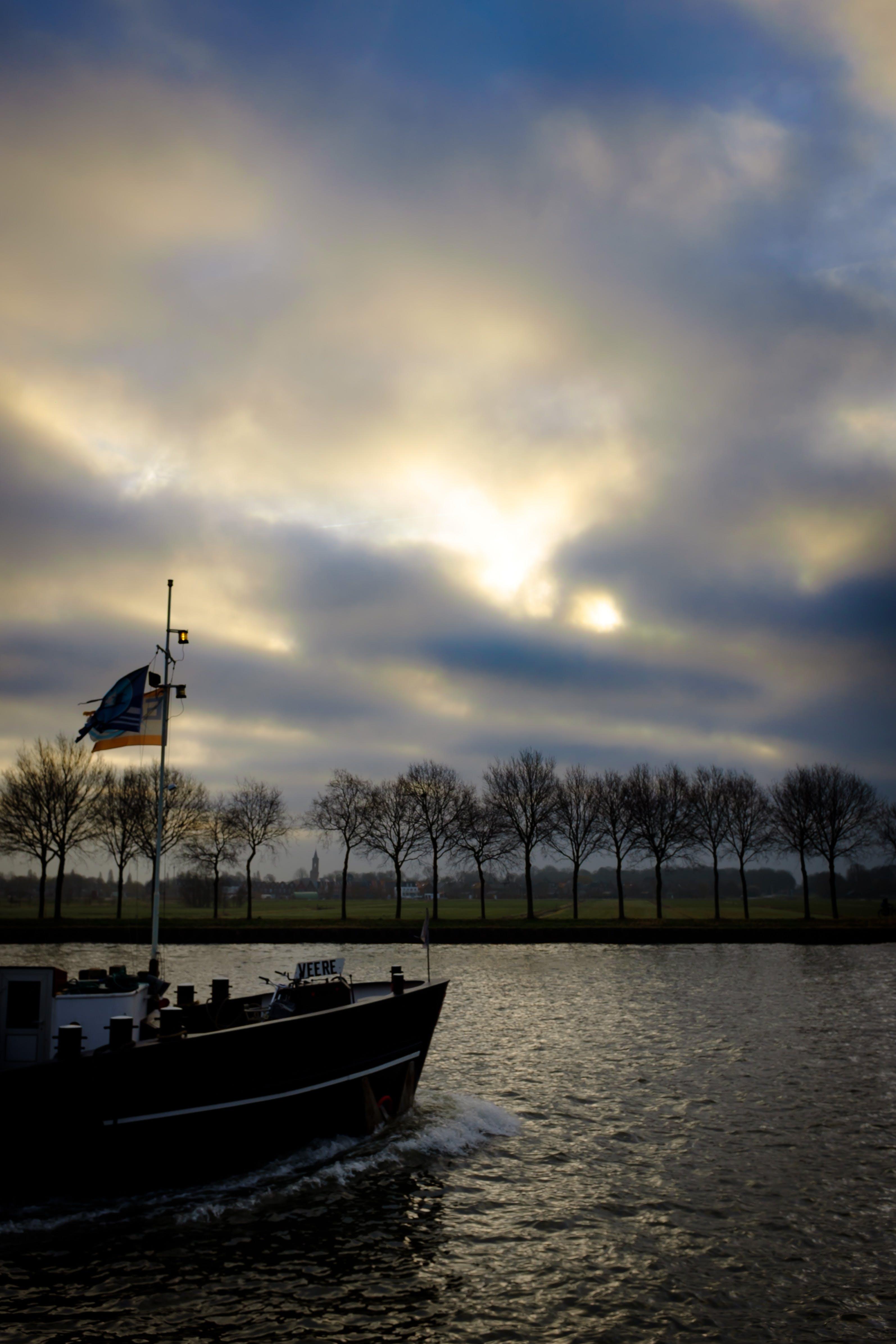 Free stock photo of jetty, light, landscape, sky