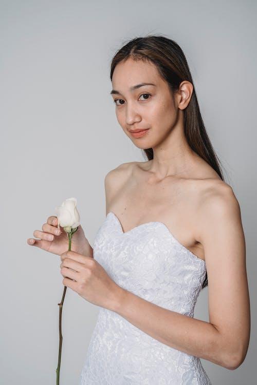 Immagine gratuita di bianco, donna, matrimonio