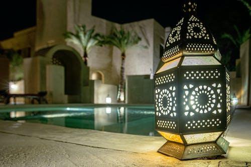 Kostenloses Stock Foto zu arabisch, architektur, beleuchtet