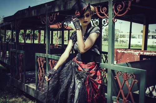 Gratis lagerfoto af fotosession, glamour, goth, goth-agtigt