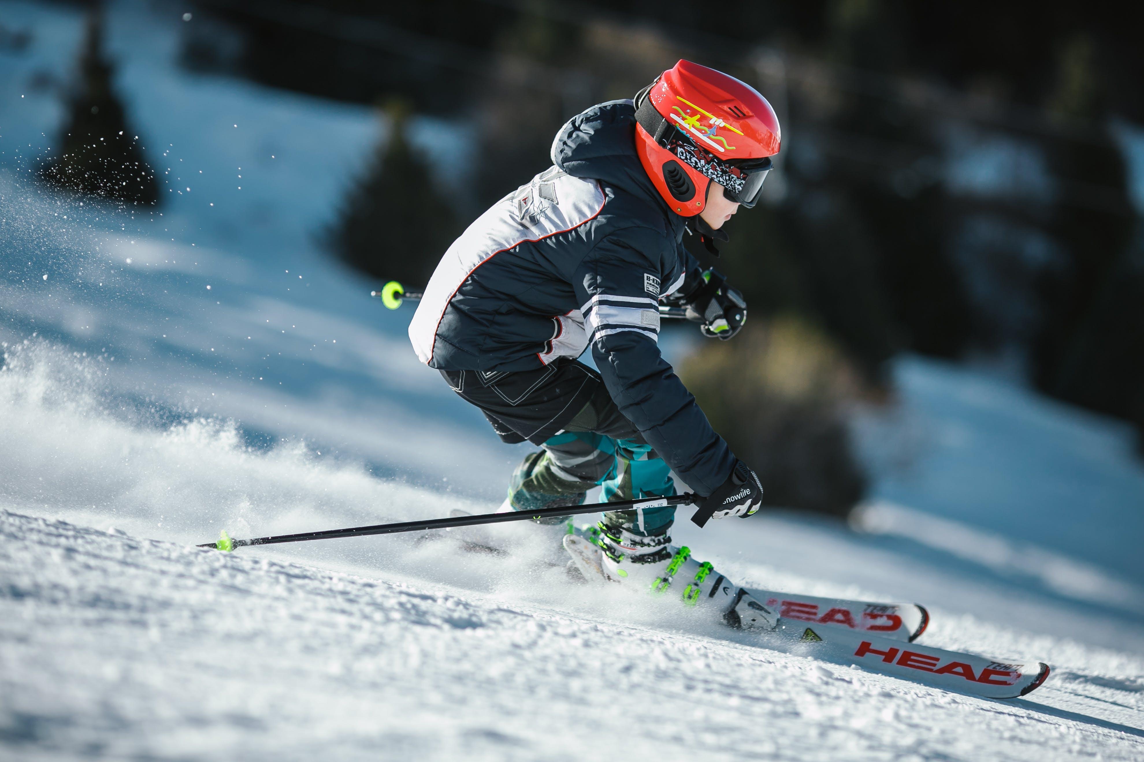 Kostenloses Stock Foto zu schnee, landschaft, natur, person