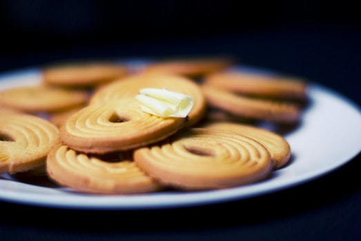 Free stock photo of dessert, cookies, butter