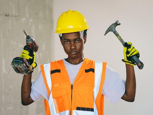 Immagine gratuita di afro-americano, attrezzatura, donna nera