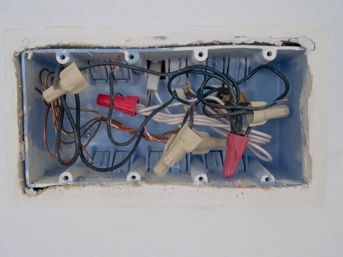 Close Up Photo of Opened Switchboard