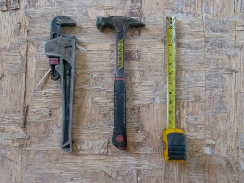 Close Up Photo of Handyman Tools
