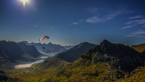 Foto profissional grátis de paraquedismo, paraquedistas, parashuit
