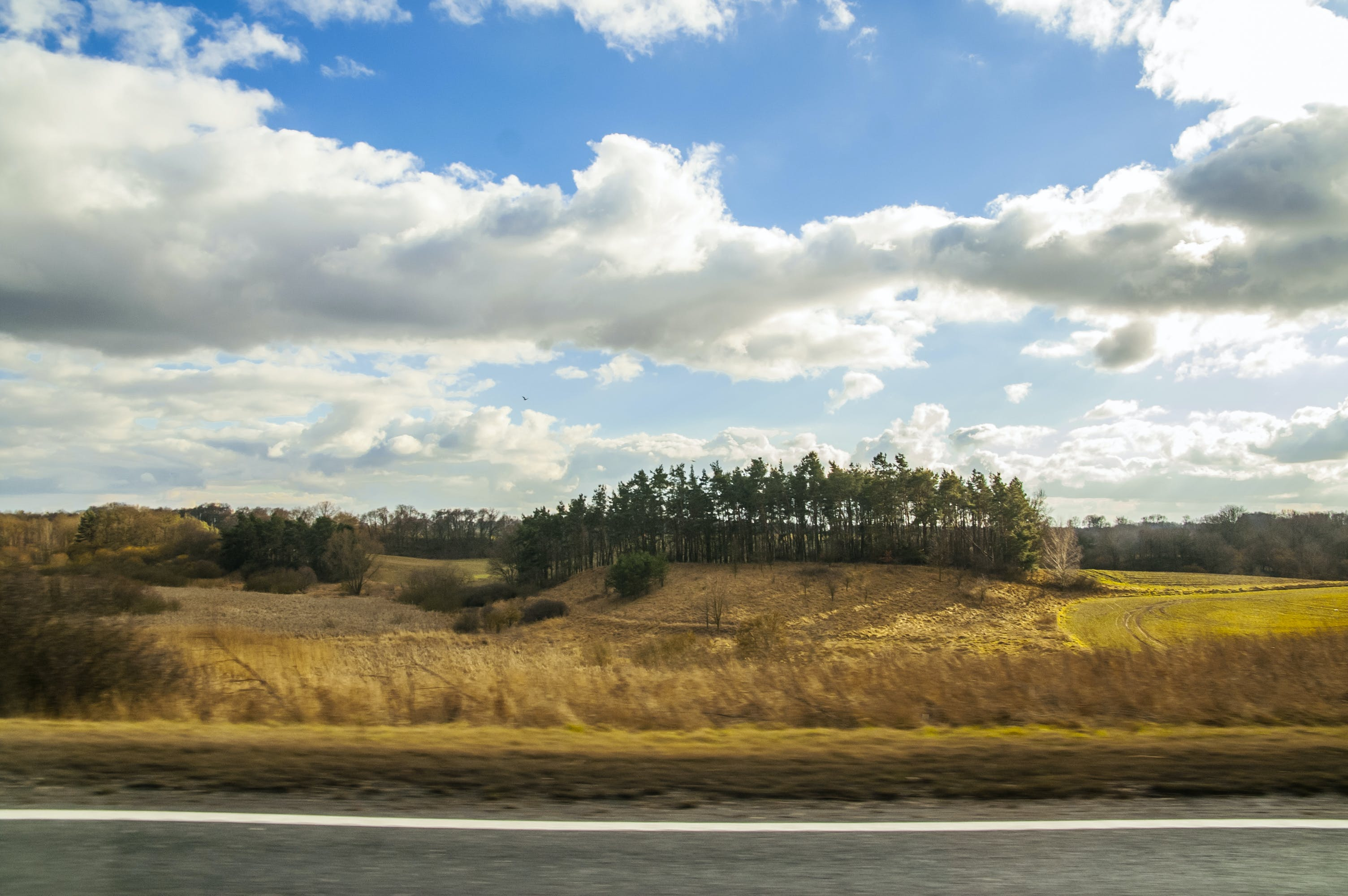 Free stock photo of landscape, outdoors, poland, road