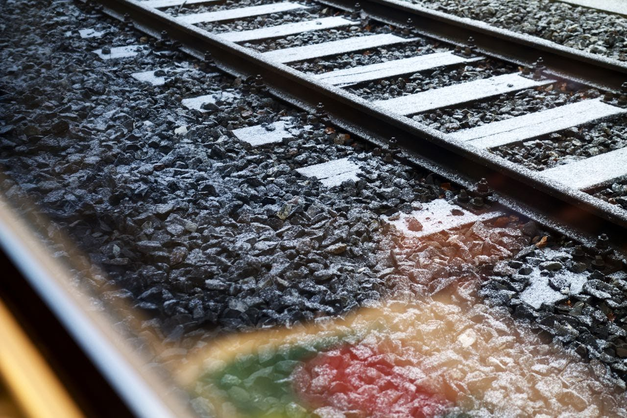 Free stock photo of snow, train, sugar, candy