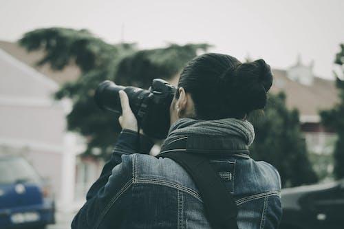 Základová fotografie zdarma na téma fotoaparát, fotograf, fotografie, osoba