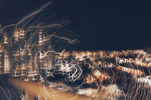 Gratis lagerfoto af aften, by, byens lys