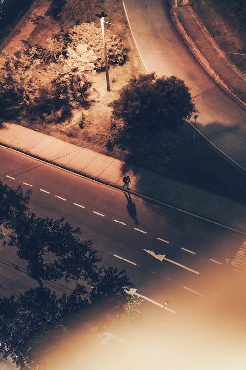 Free stock photo of alone, asphalt, city